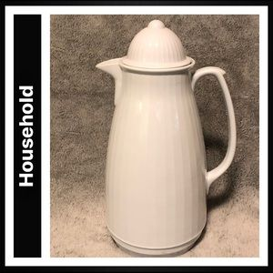 Thermal Insulated Beverage Carafe with Lid